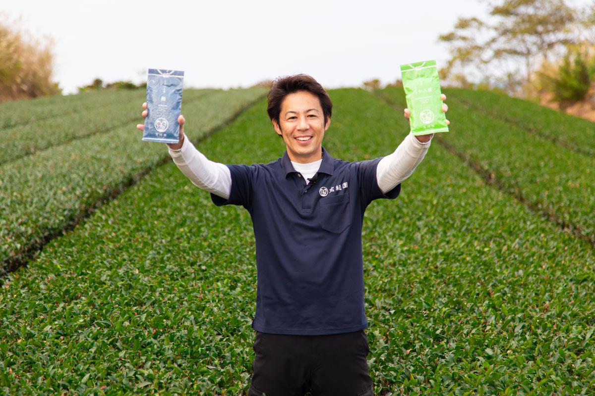 佐々町のお茶農家 寶持雅祥さん
