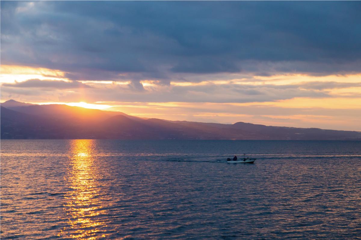 川棚町のナマコ漁場