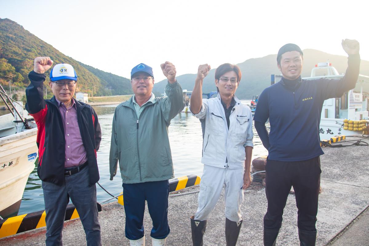 新上五島町のクロマグロ養殖家たち
